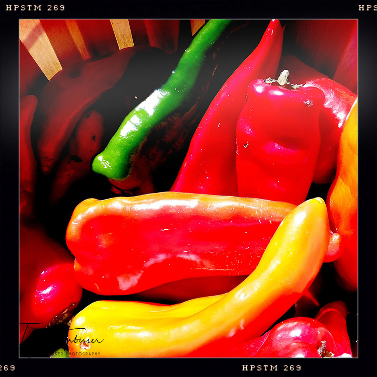 Colorful peppers - Davenport, Iowa