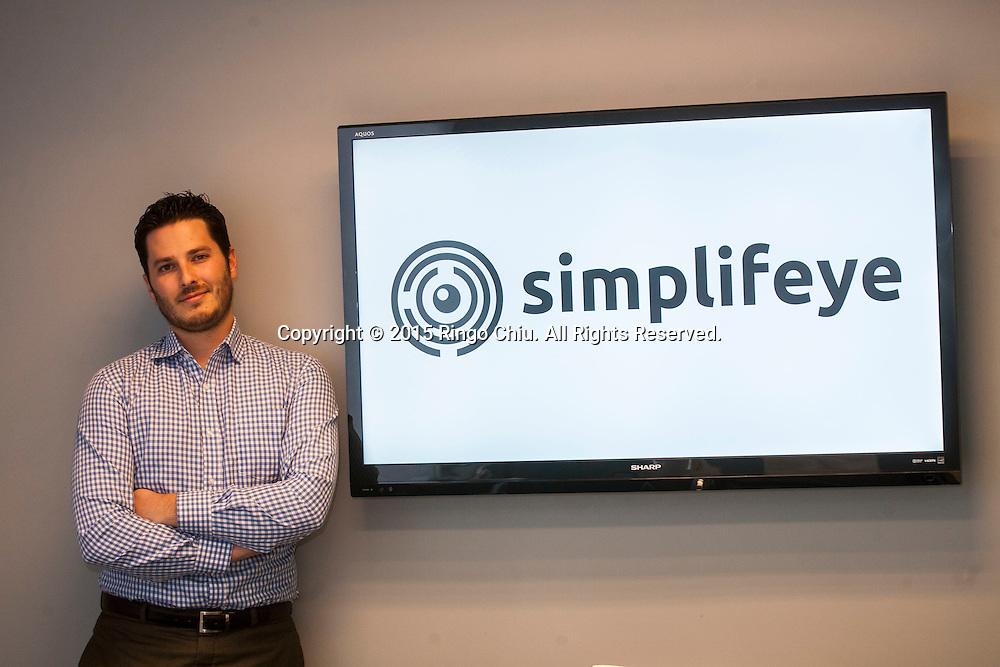 Ryan Hungate, CEO of Aro Dentistry, now Simplifeye.<br /> (Photo by Ringo Chiu/PHOTOFORMULA.com)