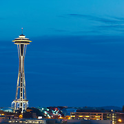 The Space Needle in Seattle, Washington.  Photo by William Byrne Drumm.