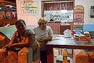 Cafe in Mayari, Holguin Province, Cuba.