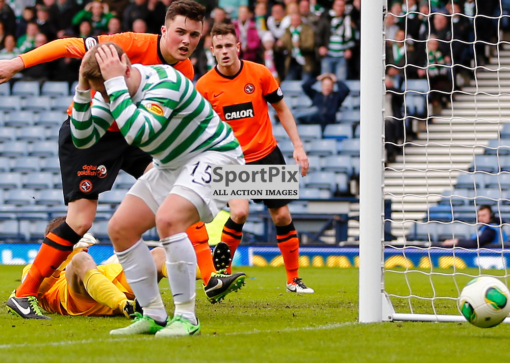 Dundee United v Celtic Scottish Cup Semi Final....Kris Commons rues missing the goal...(c) STEPHEN LAWSON | StockPix.eu