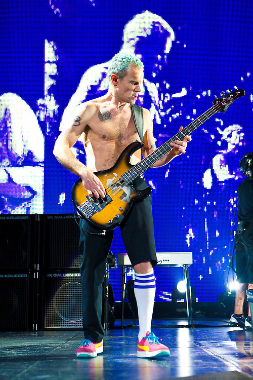 The Red Hot Chili Peppers appearing at The Prudential Center
