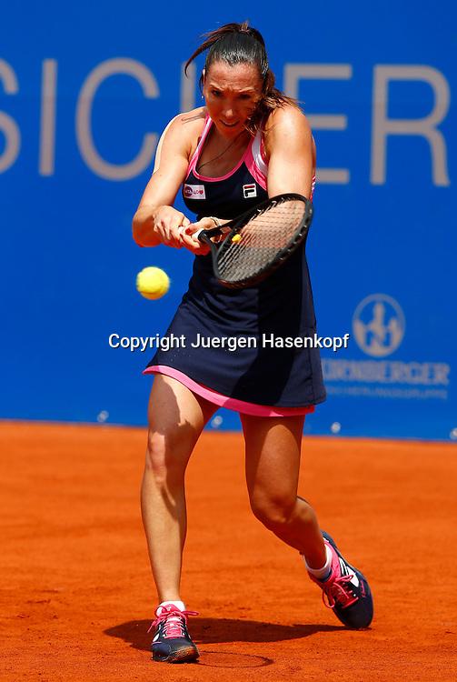 Nuernberger Versicherungscup 2013,WTA Tennis Tournament, Jelena Jankovic (SRB),Aktion,<br /> Einzelbild,Ganzkoerper,Hochformat,