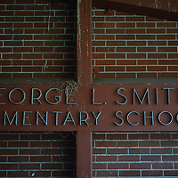The currently vacant George L. Smith Elementary School at  Southwest 52nd Avenue in Portland.