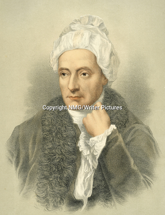 William Cowper, English poet<br /> <br /> Copyright NMG/Writer Pictures<br /> WORLD RIGHTS