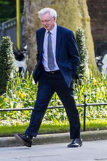 2017-4-19 Brexit Minister David Davis in Downing Street