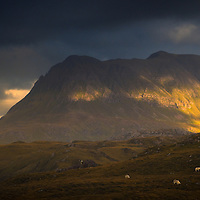 Cul Mor from Aird of Coigach, Sutherland
