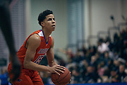 NEW YORK, NY JANUARY 27:  2017 SNY Invitational: St. Ray's vs St. Anthony's.. NOTE TO USER: Mandatory Copyright Notice: Photo by Jon Lopez
