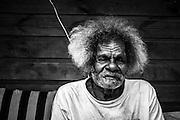 NOUVELLE CALEDONIE, HIENGHENE, Tribu de Ouayaguette - Portrait de  - Aire Coutumiere de Hoot Ma Waap - Aout 2013