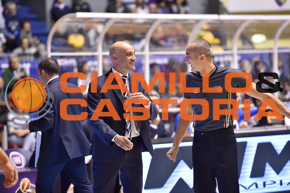 Vitucci Francesco<br /> FIAT Torino - Vagoli Cremona<br /> Lega Basket Serie A 2016-2017<br /> Torino 23/10/2016<br /> Foto Ciamillo-Castoria