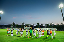 Players of Hajduk after the First Leg football match between FC Luka Koper and HNK Hajduk Split (CRO) in Second qualifying round of UEFA Europa League, on July 16, 2015 in Stadium Bonifika, Koper, Slovenia. Photo by Vid Ponikvar / Sportida
