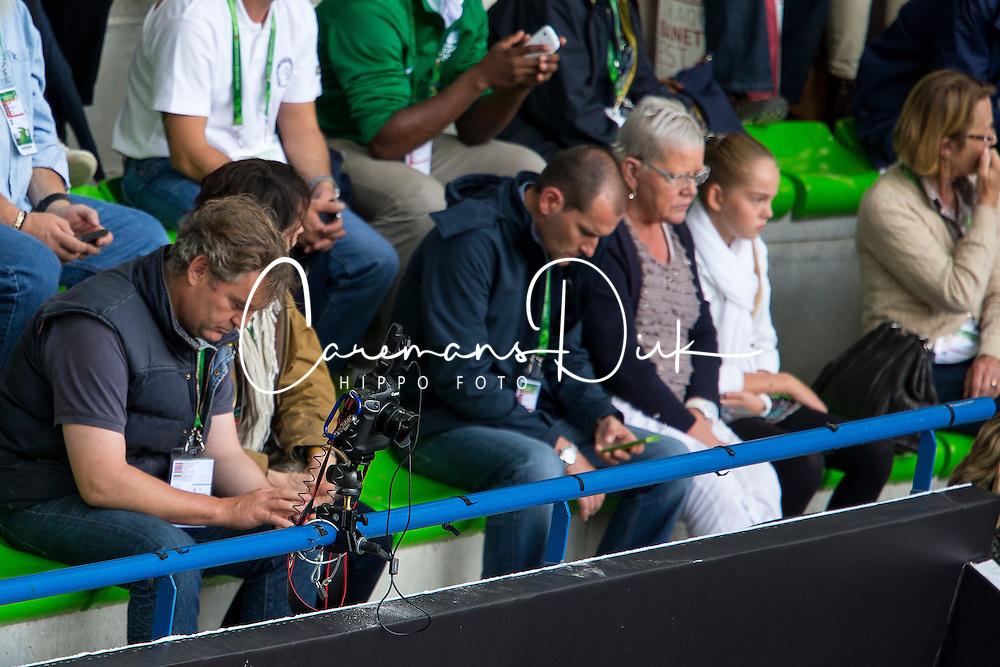 Remote Camera - Grand Prix Team Competition Dressage - Alltech FEI World Equestrian Games&trade; 2014 - Normandy, France.<br /> &copy; Hippo Foto Team - Leanjo de Koster<br /> 25/06/14