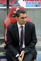 Athletic Club´s coach Ernesto Valverde during 2014-15 La Liga match between Atletico de Madrid and Athletic Club at Vicente Calderon stadium in Madrid, Spain. May 02, 2015. (ALTERPHOTOS/Luis Fernandez)