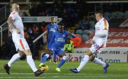 Siriki Dembele of Peterborough United in action against Luton Town - Mandatory by-line: Joe Dent/JMP - 13/11/2018 - FOOTBALL - ABAX Stadium - Peterborough, England - Peterborough United v Luton Town - Checkatrade Trophy