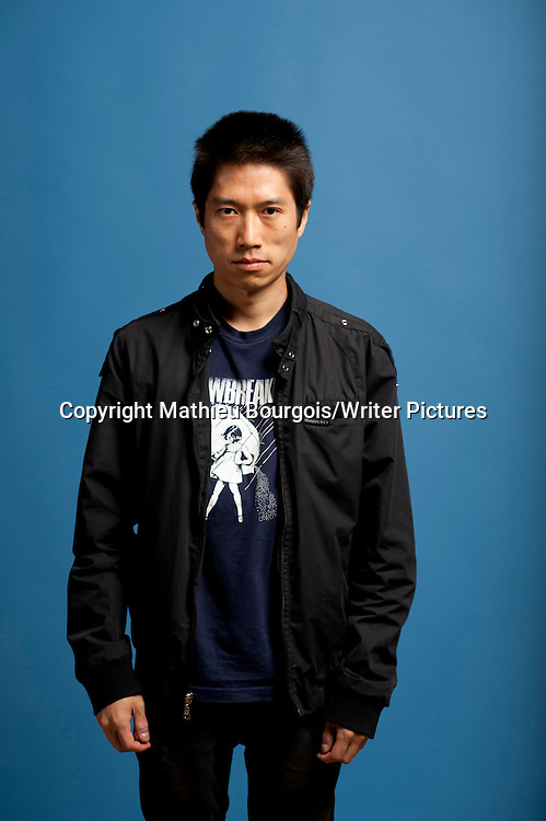 Tao Lin at Festival America, Vincennes, France<br /> 11th September 2014<br /> <br /> Picture by Mathieu Bourgois/Writer Pictures<br /> <br /> NO FRANCE