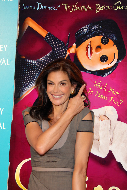 Actress Teri Hatcher attends the Australian premiere of 'Coraline' at the 2009 Sydney Film Festival at Greater Union Cinema on George Street in Sydney Australia on June 10th, 2009. (Pictured: Teri Hatcher) Photo By Kourosh Azar\Elevation Photos