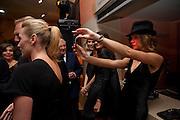 KATE WINSLET; ; NATALIA VODIANOVA, Mario Testino exhibition.  Hosted by Vanity Fair Spain and Lancome. Thyssen-Bornemisza Museum (Paseo del Prado 8, Madrid.20 September 2010.  -DO NOT ARCHIVE-© Copyright Photograph by Dafydd Jones. 248 Clapham Rd. London SW9 0PZ. Tel 0207 820 0771. www.dafjones.com.