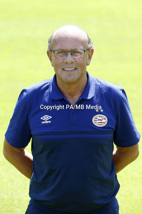 team manager Mart van den Heuvel during the team presentation of PSV Eindhoven on July 6, 2015 at the Herdgang in Eindhoven, The Netherlands.
