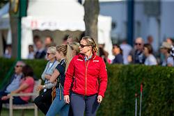 Werth Isabell, GER, <br /> Aachen - CHIO 2019<br /> Impressionen Abreiteplatz<br /> Preis der Familie Tesch<br /> Grand Prix CDIO5*<br /> 1. Wertungsprüfung für den Lambertz Nationenpreis<br /> 18. Juli 2019<br /> © www.sportfotos-lafrentz.de/Sharon Vandeput
