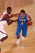 DESCRIZIONE : Bormio Torneo Internazionale Maschile Diego Gianatti Italia Francia <br /> GIOCATORE : Daniele Cavaliero <br /> SQUADRA : Nazionale Italia Uomini Italy <br /> EVENTO : Raduno Collegiale Nazionale Maschile <br /> GARA : Italia Francia Italy France <br /> DATA : 02/08/2008 <br /> CATEGORIA : Palleggio <br /> SPORT : Pallacanestro <br /> AUTORE : Agenzia Ciamillo-Castoria/S.Silvestri <br /> Galleria : Fip Nazionali 2008 <br /> Fotonotizia : Bormio Torneo Internazionale Maschile Diego Gianatti Italia Francia <br /> Predefinita :