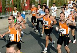 21-10-2007 ATLETIEK: ANA BEIJING MARATHON: BEIJING CHINA<br /> De Beijing Olympic Marathon Experience georganiseerd door NOC NSF en ATP is een groot succes geworden / 661, 726 en 727<br /> ©2007-WWW.FOTOHOOGENDOORN.NL