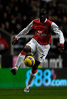 Photo: Jed Wee/Sportsbeat Images.<br /> Newcastle United v Arsenal. The FA Barclays Premiership. 05/12/2007.<br /> <br /> Arsenal's Emmanuel Eboue.