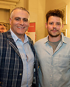 REPRO FREE:  Paul Fahy, Artistic Director GIAF  and Sam Yates Incantata in Hotel Meyrick for the announcement of the programme for the 2018 Galway International Arts Festival Programme 16-29 July which features an exciting Irish and international programme of theatre, opera, dance, circus, music, spectacle, visual art, and First Thought Talks featuring interviews and discussions on the theme of home, six world premieres, five Irish premieres and artists and theatre makers from across the world. Highlights include world premieres of Paul Muldoon's Incantata, new plays by Sonya Kelly and Cristin Kehoe (Druid) and a new theatre installation from Enda Walsh, visual arts / installations commissions from David Mach Rock 'n' Roll and Olivier Grossetête The People Build. Photo:Andrew Downes, xposure.