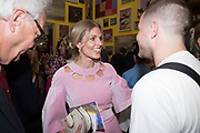 DONNA AIR, Royal Academy Summer Exhibition party. Burlington House. Piccadilly. London. 6 June 2018