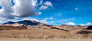 Death Valley National Park, Inyo Mountains, DVNP, Route 190, Owens Lake Bed, Panorama