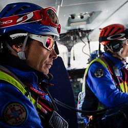 Activit&eacute; de secours en montagne de l'h&eacute;licopt&egrave;re EC145 du DAG Modane, des gendarmes secouristes du PGHM Savoie et du m&eacute;decin urgentiste du SMUR Maurienne pendant la saison de ski en station. Missions de recherche de personnes disparues, de secours en piste et hors-piste de jour, et de transport inter-hospitalier de nuit.<br /> F&eacute;vrier 2019 / Modane (73) / FRANCE<br /> Voir le reportage complet (175 photos) https://sandrachenugodefroy.photoshelter.com/gallery/2019-02-Secours-en-montagne-a-Modane-Complet/G0000ZLmkrRF_lo0/C0000yuz5WpdBLSQ