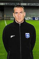 Vincent GRAGNIC - 31.10.2014 - Auxerre / Brest - 13eme journee Ligue 2<br />Photo : Jean Paul Thomas / Icon Sport