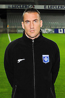 Vincent GRAGNIC - 31.10.2014 - Auxerre / Brest - 13eme journee Ligue 2<br />