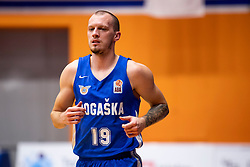 Miha Vasl of KK Rogaska during basketball match between KK Helios Suns and KK Rogaska in ABA League Second division, on October 31, 2018 in Sports hall Domzale, Domzale, Slovenia. Photo by Urban Urbanc / Sportida