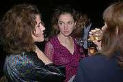 Molly Dent Brocklehurst and ALBA ARIKHA;. Party for Bret Easton Ellis's book 'Lunar Park'  given by Geordie Greig. Home House. Portman Sq. London.  London. 5 October 2005. . ONE TIME USE ONLY - DO NOT ARCHIVE © Copyright Photograph by Dafydd Jones 66 Stockwell Park Rd. London SW9 0DA Tel 020 7733 0108 www.dafjones.com