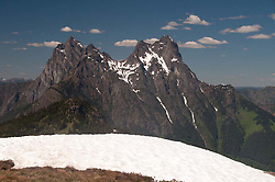 Desolation Peak, North Cascades National Park, Washington, US