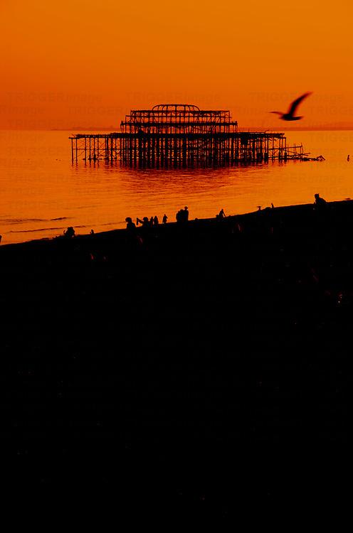 Brighton West Pier East Sussex England