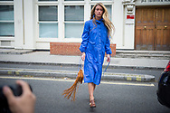 Blue Shirtdress, Outside JW Anderson SS2018