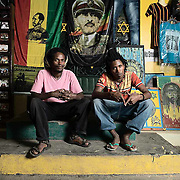 Portrait of rasta's in Sheshemane, Ethiopia.
