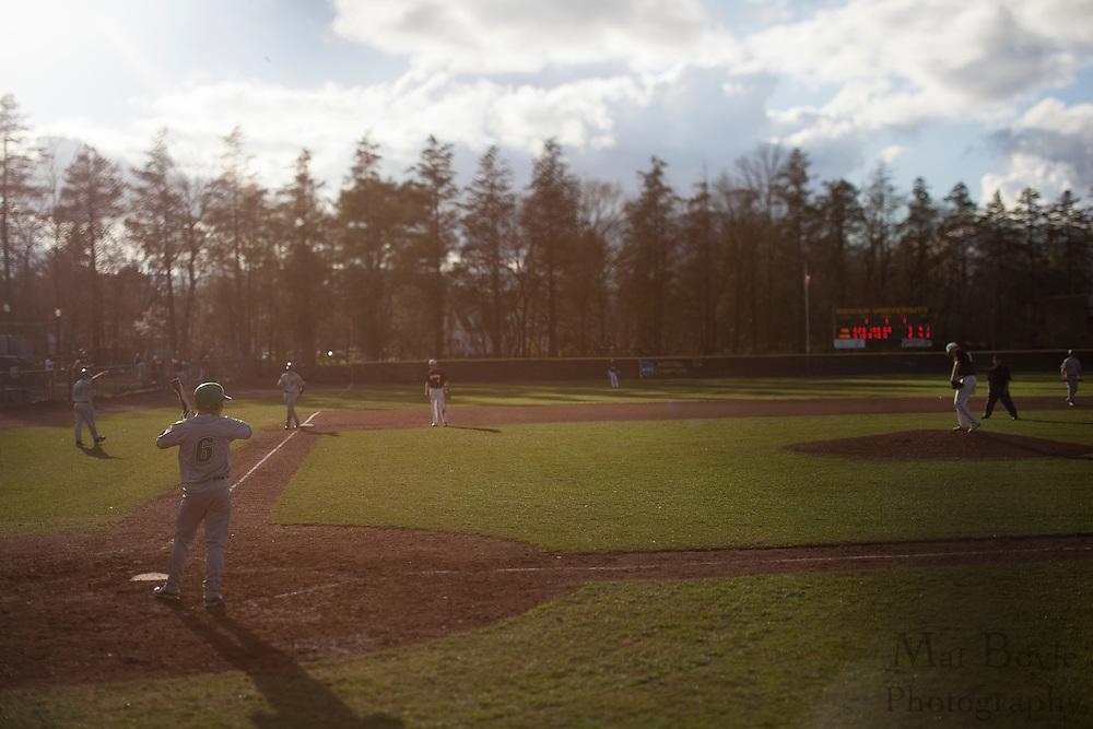 Rowan University Baseball defeats York College of Pennsylvania 4-3 in Glassboro, NJ on Tuesday March 20, 2012. (photo / Mat Boyle)
