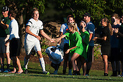 during the boys soccer game between the The Burlington Seahorses and the Rice Green Knights at Rice Memorial high School on Tuesday afternoon September 15, 2015 in South Burlington, Vermont. (BRIAN JENKINS/for the FREE PRESS)