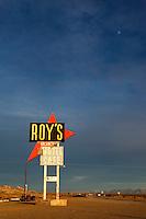 Route 66 Historic Landmark - Roy's Motel, Amboy, California
