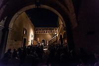 Alessano, 6 agosto 2019.  Hirundo Maris, A. Savall, P. Udland Johansen in concerto presso Palazzo Sangiovanni in occasione del Festival Internazionale di Musica Classica Muse Salentine.