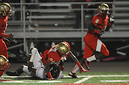 Lafayette High's D.K. Buford (2) scores on a 73 yard touchdown run vs. New Albany on Homecoming in Oxford, Miss. on Friday, October 18, 2013. Lafayette won.