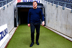 Mansfield Town manager David Flitcroft arrives at Stadium MK, home to Mansfield Town - Mandatory by-line: Ryan Crockett/JMP - 04/05/2019 - FOOTBALL - Stadium MK - Milton Keynes, England - Milton Keynes Dons v Mansfield Town - Sky Bet League One