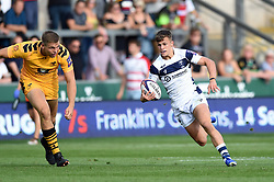 Toby Venner of Bristol Bears in action - Mandatory byline: Patrick Khachfe/JMP - 07966 386802 - 14/09/2019 - RUGBY UNION - Franklin's Gardens - Northampton, England - Premiership Rugby 7s (Day 2)