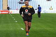 Wasps prop wasps Zurabi Zhvania (1) during the Gallagher Premiership Rugby match between Wasps and Bath Rugby at the Ricoh Arena, Coventry, England on 2 November 2019.