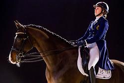 Roos Laurence, BEL, Fil Rouge<br /> FEI World Cup Dressage - Grand Prix<br /> Jumping Amsterdam 2017<br /> © Hippo Foto - Leanjo de Koster<br /> 27/01/17