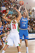 DESCRIZIONE : Ortona Italy Italia Eurobasket Women 2007 Bielorussia Italia Belarus Italy <br /> GIOCATORE : Eva Giauro <br /> SQUADRA : Nazionale Italia Donne Femminile EVENTO : Eurobasket Women 2007 Campionati Europei Donne 2007 <br /> GARA : Bielorussia Italia Belarus Italy <br /> DATA : 03/10/2007 <br /> CATEGORIA : Tiro <br /> SPORT : Pallacanestro <br /> AUTORE : Agenzia Ciamillo-Castoria/S.Silvestri Galleria : Eurobasket Women 2007 <br /> Fotonotizia : Ortona Italy Italia Eurobasket Women 2007 Bielorussia Italia Belarus Italy <br /> Predefinita :