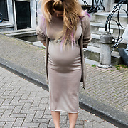 NLD/Amsterdam/20150602 - Talkies Terras award 2016, zwangere Victoria Koblenko
