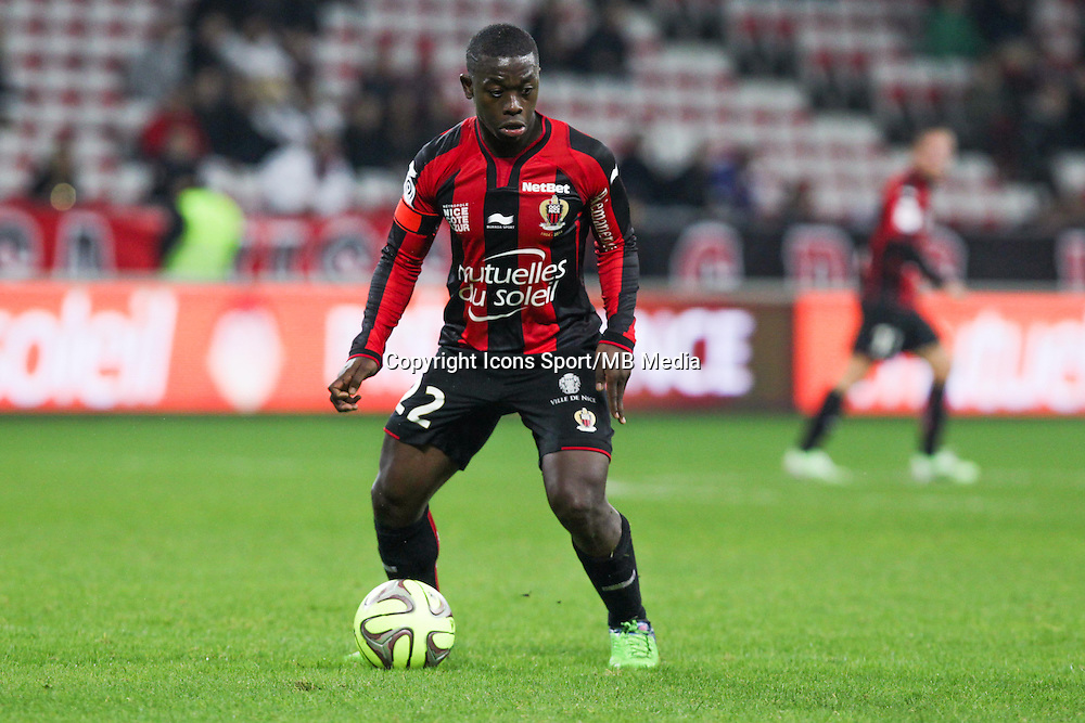 Nampalys MENDY - 03.12.2014 - Nice / Rennes - 16eme journee de Ligue 1 -<br /> Photo : Jean Christophe Magnenet / Icon Sport